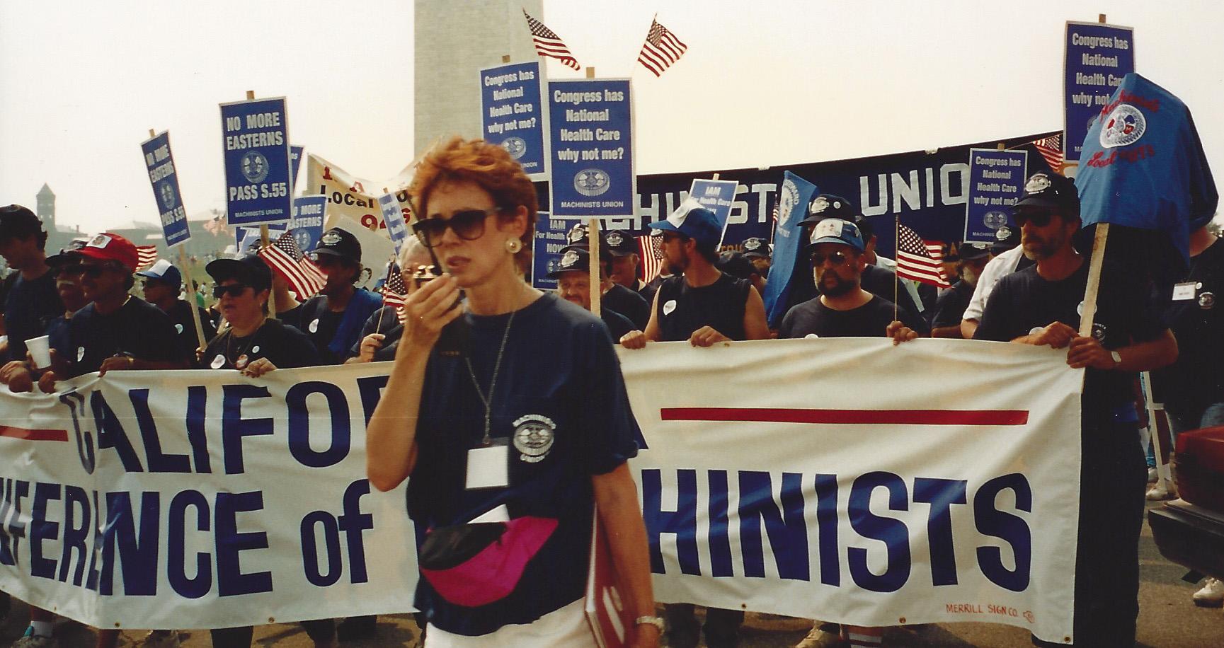 IAM Mourns Passing of Former International Affairs Director Barbara Shailor